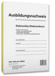 Ausbildungsnachweis Elektroniker/Elektronikerin, Buch