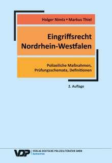 Holger Nimtz: Eingriffsrecht Nordrhein-Westfalen, Buch