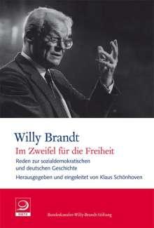 """Willy Brandt: """"Im Zweifel für die Freiheit"""", Buch"""