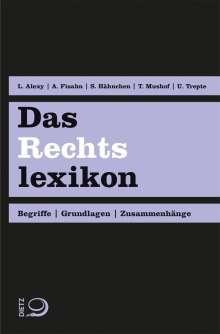 Lennart Alexy: Das Rechtslexikon, Buch