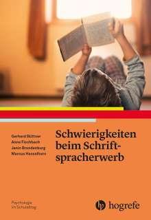 Gerhard Büttner: Schwierigkeiten beim Schriftspracherwerb, Buch