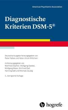 American Psychiatric Association: Diagnostische Kriterien DSM-5, Buch