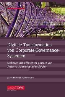 Marc Eulerich: Digitale Transformation von Corporate-Governance-Systemen, Buch