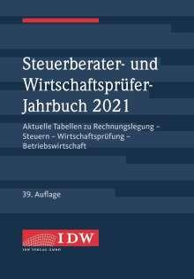 Steuerberater- und Wirtschaftsprüfer-Jahrbuch 2021, Buch