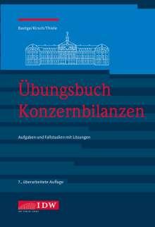 Jörg Baetge: Übungsbuch Konzernbilanzen, 8. Aufl., Buch