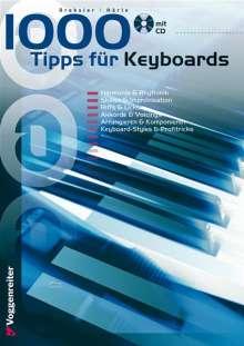 Dreksler: 1000 Tipps für Keyboards, Noten