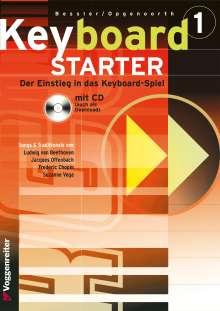 Jeromy Bessler: Keyboard-Starter I. Inkl. CD, Noten