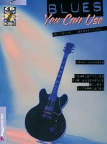 Blues you can use. Inkl. CD, Noten