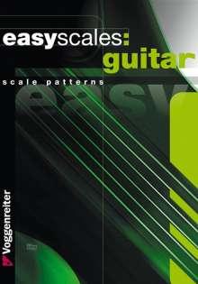 Bessler: Easy Scales Guitar (engl.), Noten