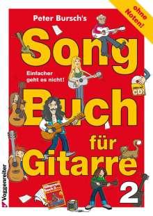Peter Bursch: Songbuch für Gitarre 2, Noten