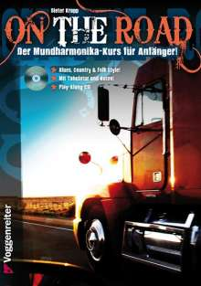 Dieter Kropp: On The Road, für Blues Harp, m. Audio-CD, Noten