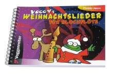 Martina Holtz: Voggy's Weihnachtslieder für Blockflöte, Noten