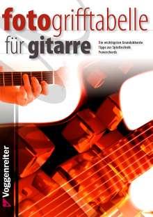 Jeromy Bessler: Foto-Grifftabelle für Gitarre, Noten