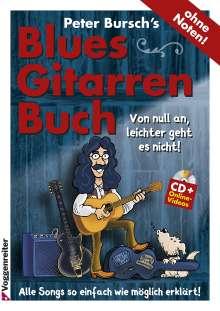 Peter Bursch: PB's Bluesgitarrenbuch (CD+DVD), Noten
