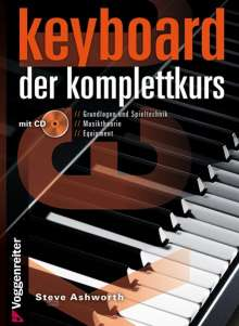 Steven Ashworth: Keyboard. Der Komplettkurs, Noten