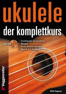 Phil Capone: Ukulele - Der Komplettkurs (CD), C-Stimmung, Noten