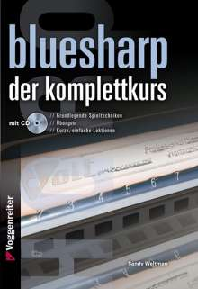 Sandy Weltman: Bluesharp - Der Komplettkurs (CD), Noten