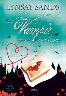 Lynsay Sands: Ein Vampir für alle Lebenslagen, Buch