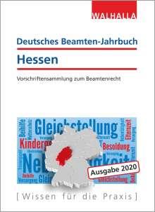 Walhalla Fachredaktion: Deutsches Beamten-Jahrbuch Hessen 2020, Buch