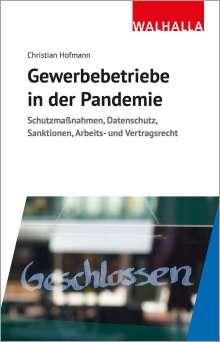 Christian Hofmann: Gewerbebetriebe in der Pandemie, Buch
