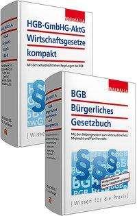 Walhalla Fachredaktion: Kombi-Paket BGB Bürgerliches Recht + HGB, GmbHG, AktG, Wirtschaftsgesetze kompakt, Buch