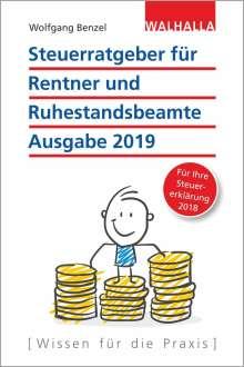 Wolfgang Benzel: Steuerratgeber für Rentner und Ruhestandsbeamte, Buch
