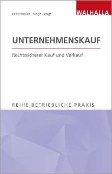 Christian Ostermaier: Unternehmenskauf, Buch