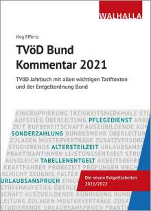 Jörg Effertz: TVöD Bund Kommentar 2021, Buch