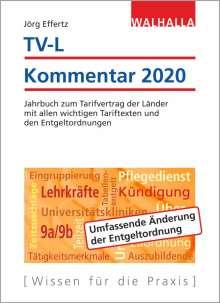 Jörg Effertz: TV-L Kommentar 2020, Buch