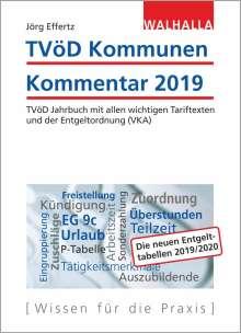 Tvöd Kommunen Kommentar 2019 Jörg Effertz Buch Jpc