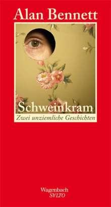 Alan Bennett: Schweinkram, Buch