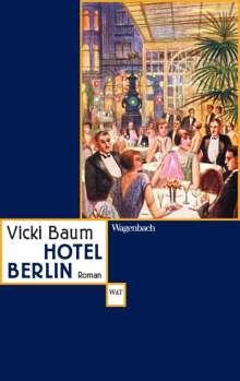 Vicki Baum: Hotel Berlin, Buch