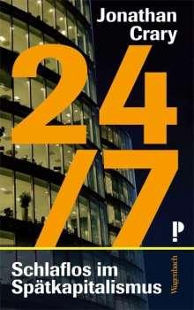 Jonathan Crary: 24/7, Buch