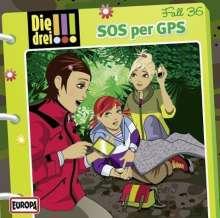 Die drei !!! 36: SOS per GPS, CD