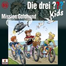 Boris Pfeiffer: Die drei ??? Kids 65: Mission Goldhund, CD