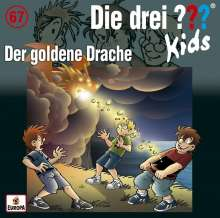 Boris Pfeiffer: Die drei ??? Kids 67: Der goldene Drache, CD