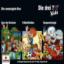 Die drei ??? Kids 20. 3er Box (Folgen 58, 59, 60), 3 CDs