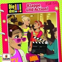 Henriette Wich: Die drei !!! 54: Klappe und Action!, CD