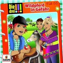 Ina Biber: Die drei !!! 55: Wildpferd in Gefahr, CD