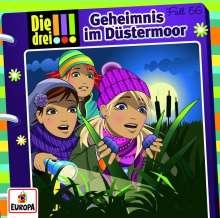 Natascha Römer: Die drei !!! 56: Geheimnis im Düstermoor, CD