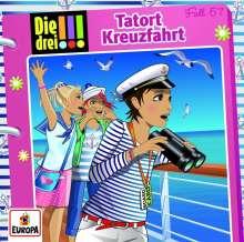 Henriette Wich: Die drei !!!  57: Tatort Kreuzfahrt, CD