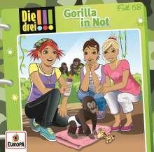 Ann-Katrin Heger: Die drei !!!  58: Gorilla in Not, CD