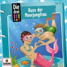 Mira Sol: Die drei !!! 72: Kuss der Meerjungfrau, CD