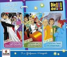 Henriette Wich: Die drei !!! 3er Box Folgen 28-30, 3 CDs