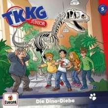 TKKG Junior 05. Die Dino-Diebe, CD