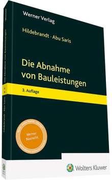 Amneh Abu Saris: Die Abnahme von Bauleistungen, Buch