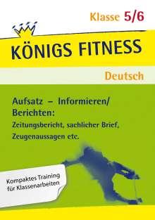 Gabriele Böhne: Informieren - Berichten  5./6. Schuljahr. Lösungen, Buch
