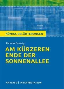 Thomas Brussig: Am kürzeren Ende der Sonnenallee. Textanalyse und Interpretation zu Thomas Brussig, Buch