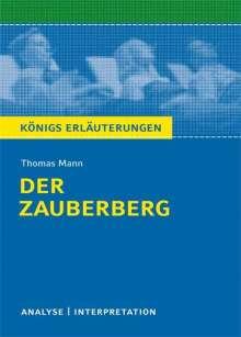 Thomas Mann: Der Zauberberg. Textanalyse und Interpretation, Buch