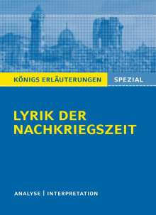 Gudrun Blecken: Lyrik der Nachkriegszeit (1945-60)., Buch